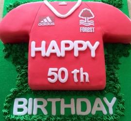 Nottingham Forest football cake
